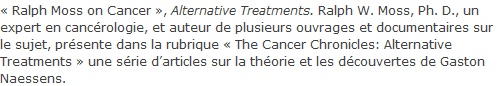 guerir le cancer